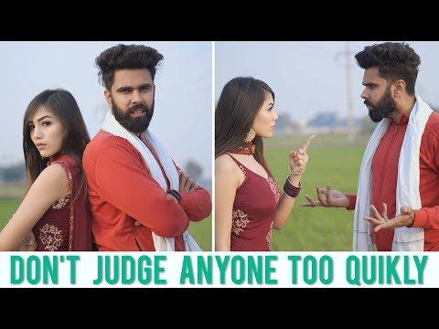 Don't Judge Anyone Too Quickly | Karamjale | Dheeraj Dixit | Desi People