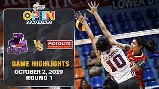 Choco Mucho vs. Motolite - October 2, 2019 | Game Highlights | #PVL2019