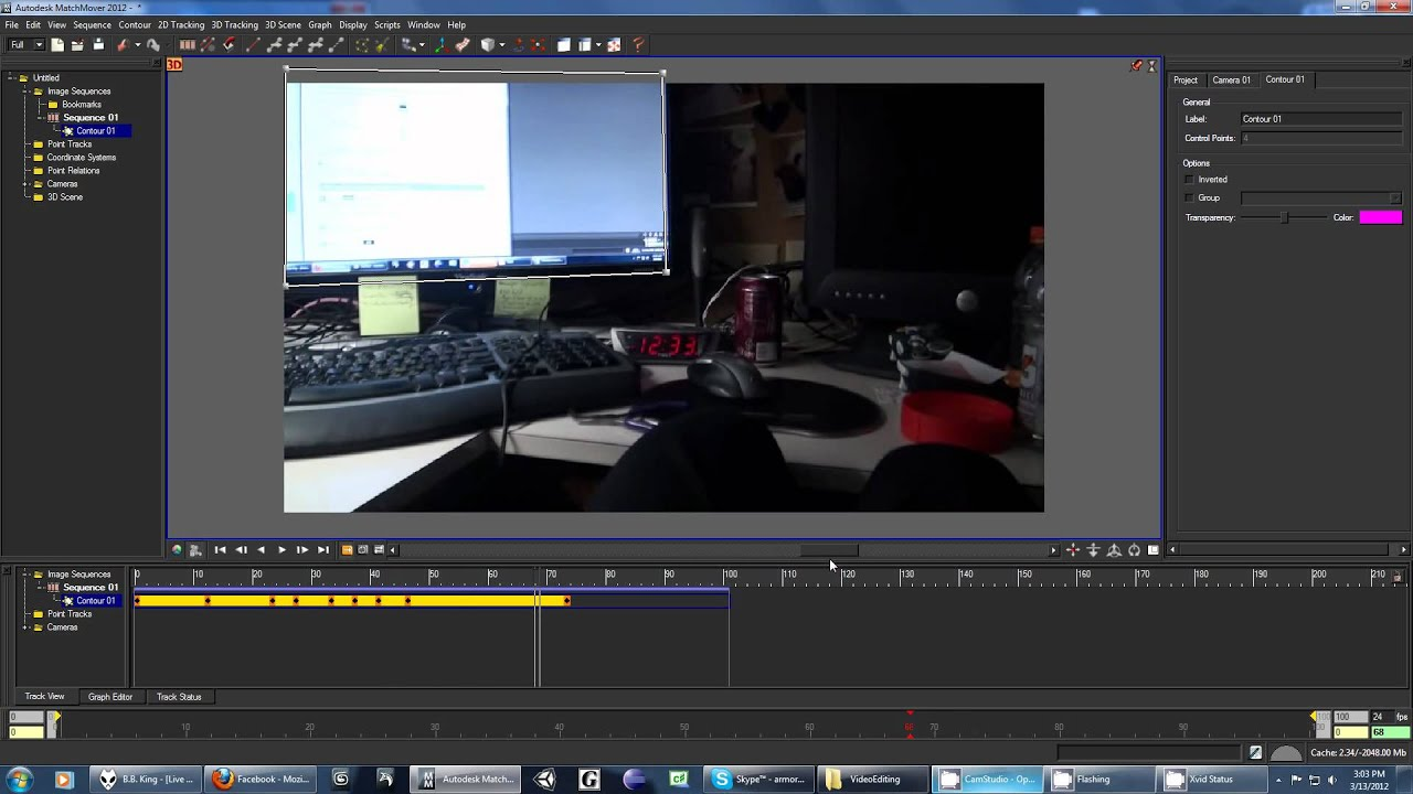 Using contours in matchmover youtube using contours in matchmover ccuart Images