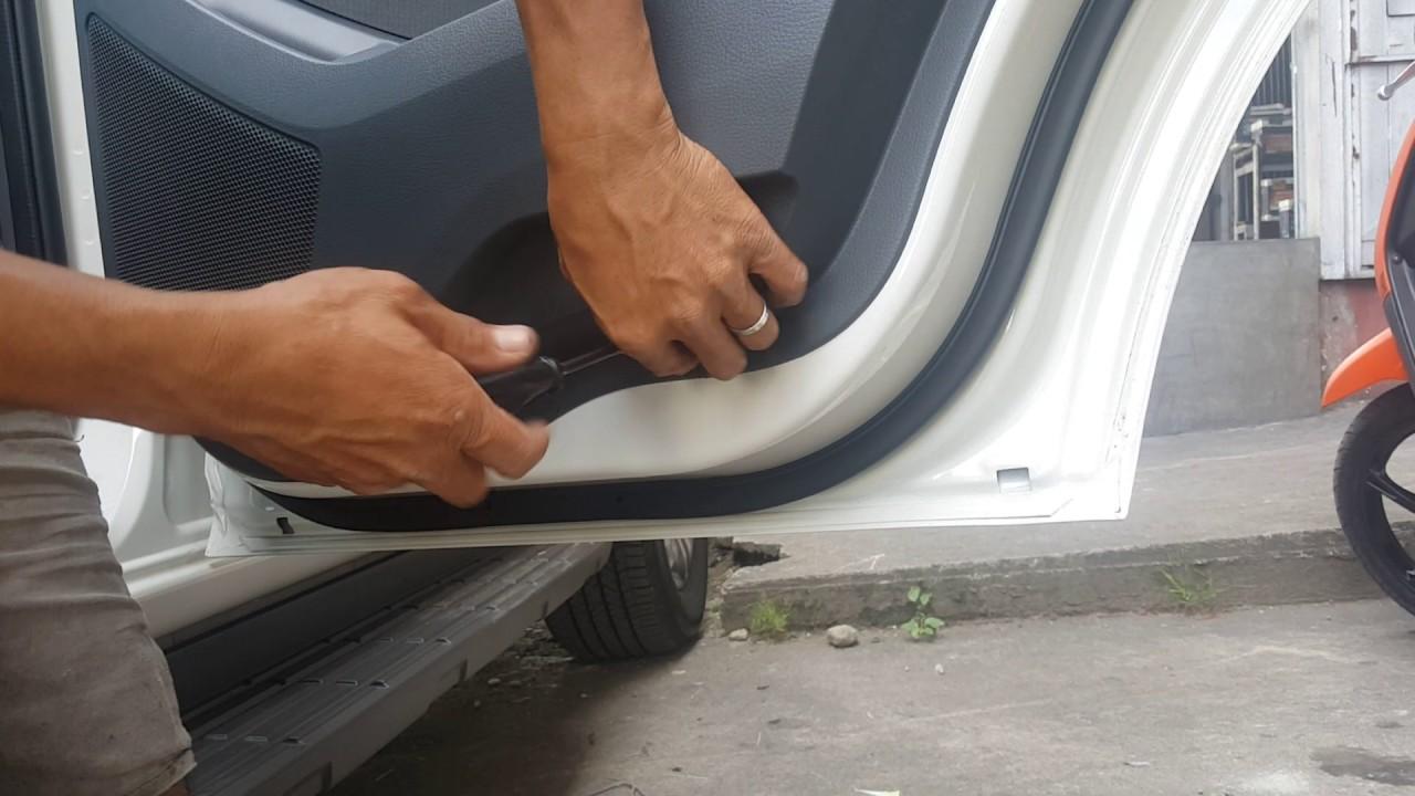 Jeff Tan Tutorial Ford Everest Rear Door Panel Removal