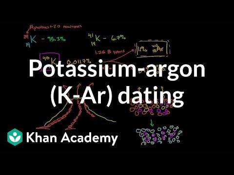 Potassium-argon (K-Ar) dating | Cosmology & Astronomy | Khan Academy