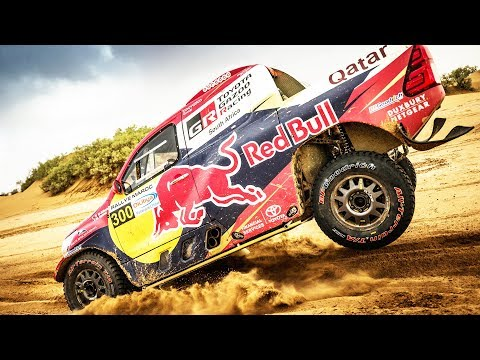 Pushing a new car to its limits /w Nasser Al-Attiyah