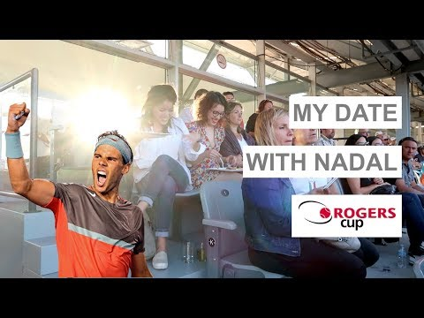 Rogers Cup - my date with NADAL !
