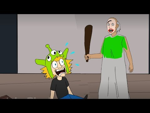 GRANNY THE HORROR GAME ANIMATION #3: