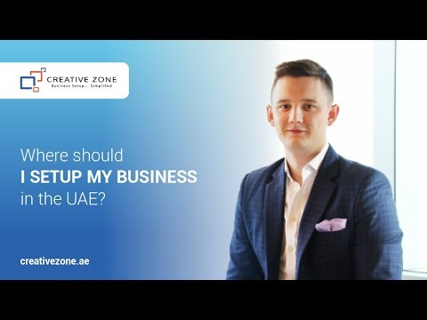 Where should I setup my business in the UAE?