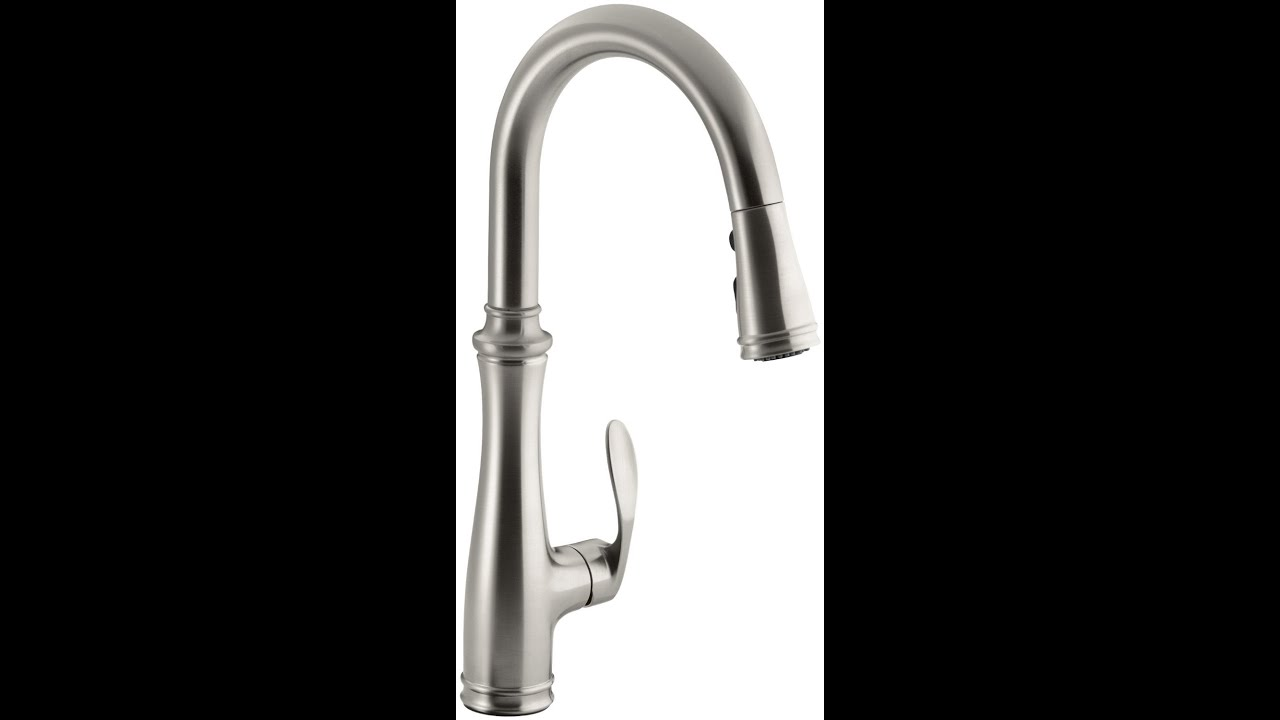 Best Kitchen Faucets | Kohler K 560 VS Bellera Pull Down Kitchen ...