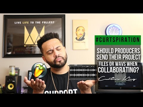 Should Music Producers Send Their PROJECT FILES or WAVS when Collaborating? #Curtspiration