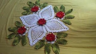 Caminho de mesa florido