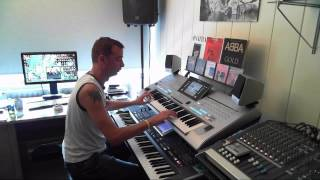 Radetzky March Johann Strauss Performed On Yamaha Tyros 4 By Rico