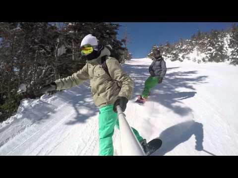 Kilington Vermont Snowboarding Trip 2015 GoPro Hero 4 HD