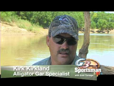 G3 Sportsman TV - Trinity River Gator Gar