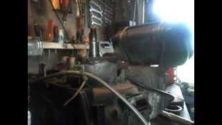 moteur bernard reglage visse patiné