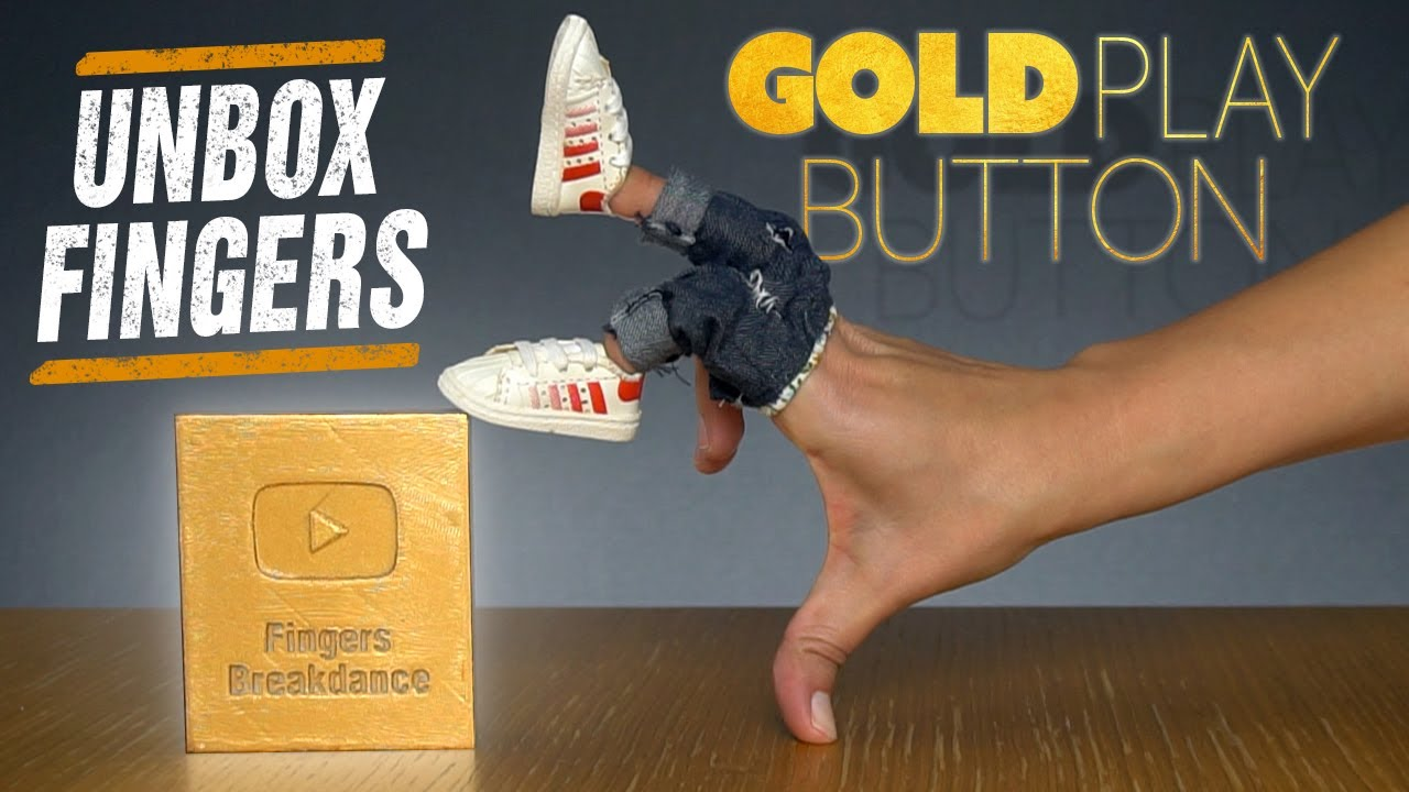 Unbox Fingers | The Gold Play Button!