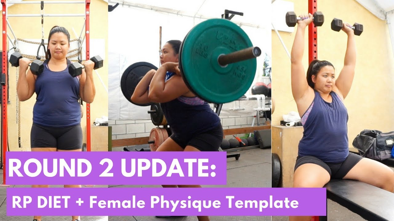round 2 update rp diet female physique templates youtube. Black Bedroom Furniture Sets. Home Design Ideas