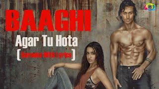 Agar Tu Hota - Karaoke (With Lyrics)   Baaghi (2016)   JV MediaWorks Co.