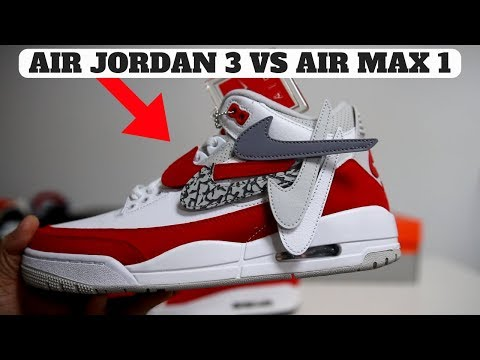 d1ed5ed934da WHY I COPPED THE AIR JORDAN 3 TINKER RETRO! (Comparison to AIR MAX 1) Buy Air  Jordan 3 Retro Tinker here! https   bit.ly 2FL4MgW