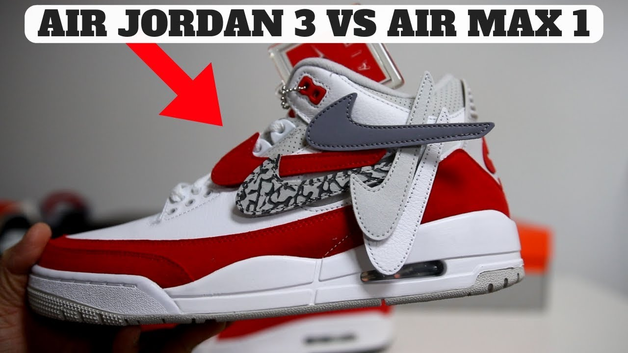 d3a6c1c127f9 WHY I COPPED THE AIR JORDAN 3 TINKER RETRO! (Comparison to AIR MAX 1 ...