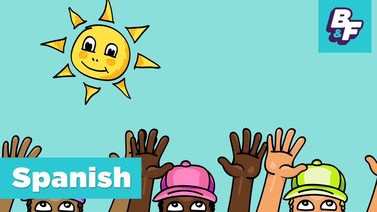 learn spanish greetings hola amigo with basho friends youtube
