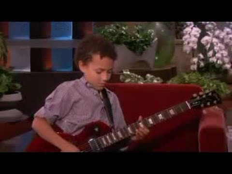 Child Guitar Prodigy! on Ellen Show