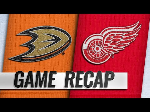 Red Wings score three in 3rd to power past Ducks