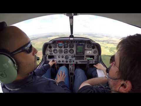 Practice Forced Landing (PFL) / Prise de Terrain en Encadrement (PTE) at LFGR
