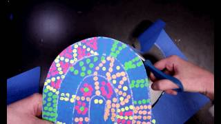 Neon Snake with Dots Video