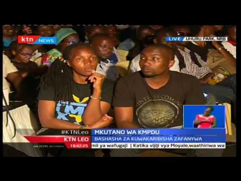 Kurunzi ya KTN: Mkutano wa KMPDU viongozi wakiachiliwa kutoka gerezani, Februari 15 2017