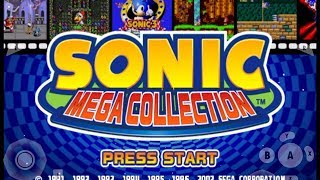 Sonic Mega Collection  (GCN) - Sonic 1 Playthrough Part #2