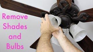 Ceiling Fan Light Repair -- by Home Repair Tutor