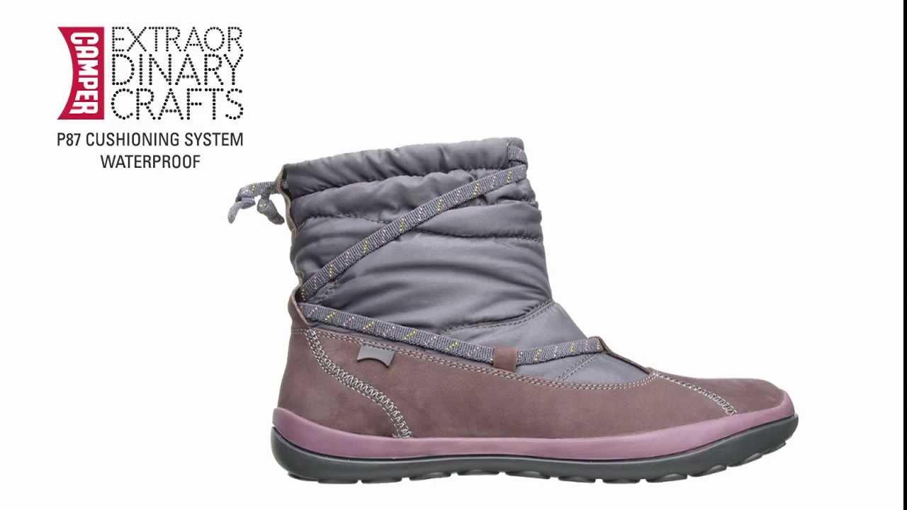 camper peu pista boots