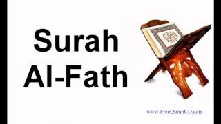 Surah Al-Fath - English Audio Translation + Arabic - 48
