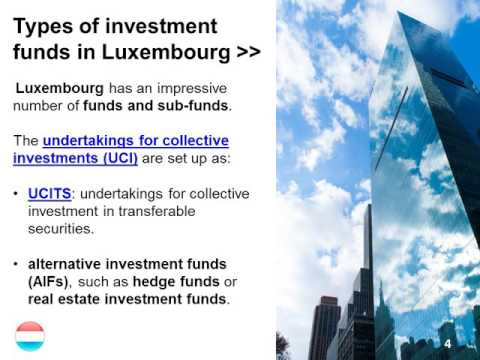 Investment Funds in Luxembourg