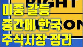 주식투자 미국 중국 갈등과 중간에 낀 한국, 주식시장 …