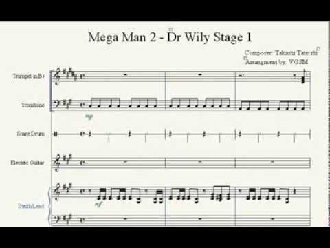 Mega Man 2 - Dr.Wily Stage 1 Sheet