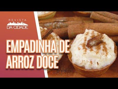 Faça E Venda: Empadinha De Arroz Doce - Revista Da Cidade (05/06/18)
