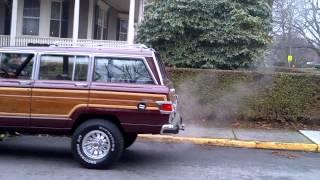 1983 Wagoneer (prior Wagonmaster) 77k miles... arrives in Newport