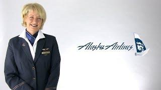 Alaska Airlines Flight Attendant Dixie