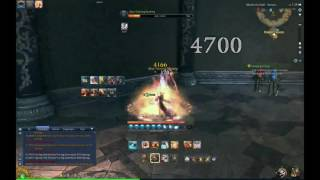 Blade and Soul KFM Wind Build Animation Cancel Try