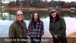 18.03.12 El Infierno - Vigo, Spain Agent Cooper / Tony MacAlpine