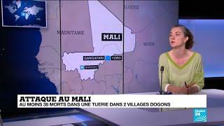 Une nouvelle attaque dans le centre du Mali fait 38 morts