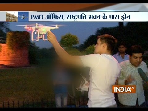 Foreign National Flying Drone near Parliament Creates Security Scare - India TV