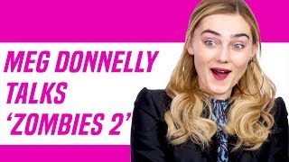 Meg Donnelly Gushes Over Milo Manheim & Talks ZOMBIES 2