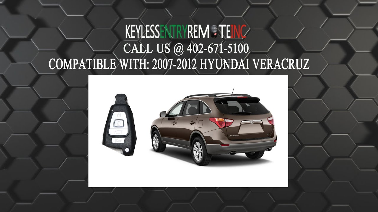 How to replace hyundai veracruz key fob battery 2007 2008 2009 2010 2011 2012 youtube