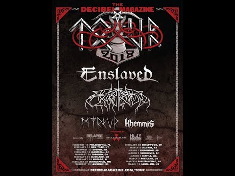 Enslaved North American Tour w/ support from Wolves In The Throne Room, Myrkur and Khem