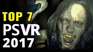 Top 7 Best PSVR Games of 2017 So Far