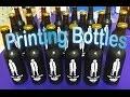 DIY Printing Glass Beer Bottles- My DIY bottle screen printer