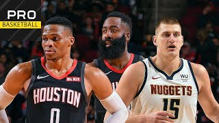 Denver Nuggets vs Houston Rockets | Dec. 31, 2019 | 2019-20 NBA Season | Обзор матча