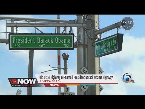 Old Dixie Highway renamed President Barack Obama Highway