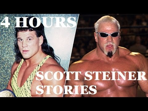 Why EVERYBODY was afraid of Scott Steiner: 4 hours of Big Poppa Pump stories!