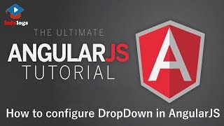AngularJS Video Tutorials - How to use Select tag for generating Dropdown